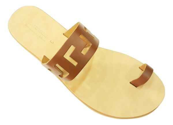 greek handmade leather sandals 678
