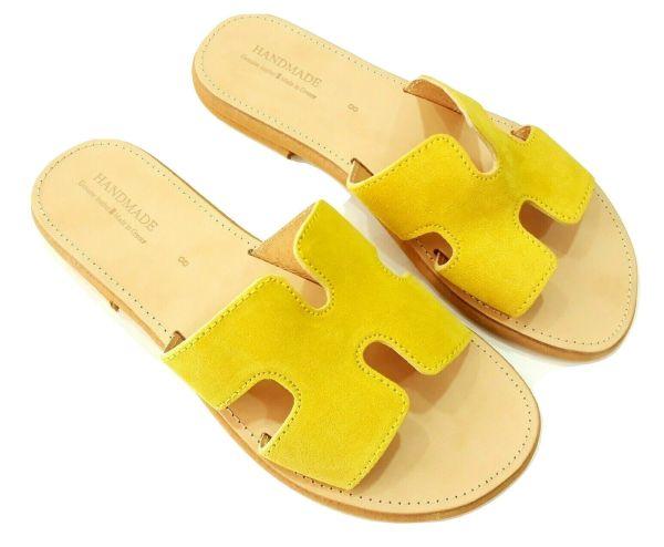 greek handmade leather sandals 741