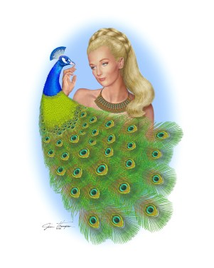 CY with Peacock from Artist's Disk