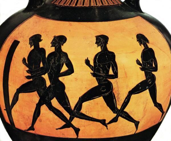 Image result for greek stadion race