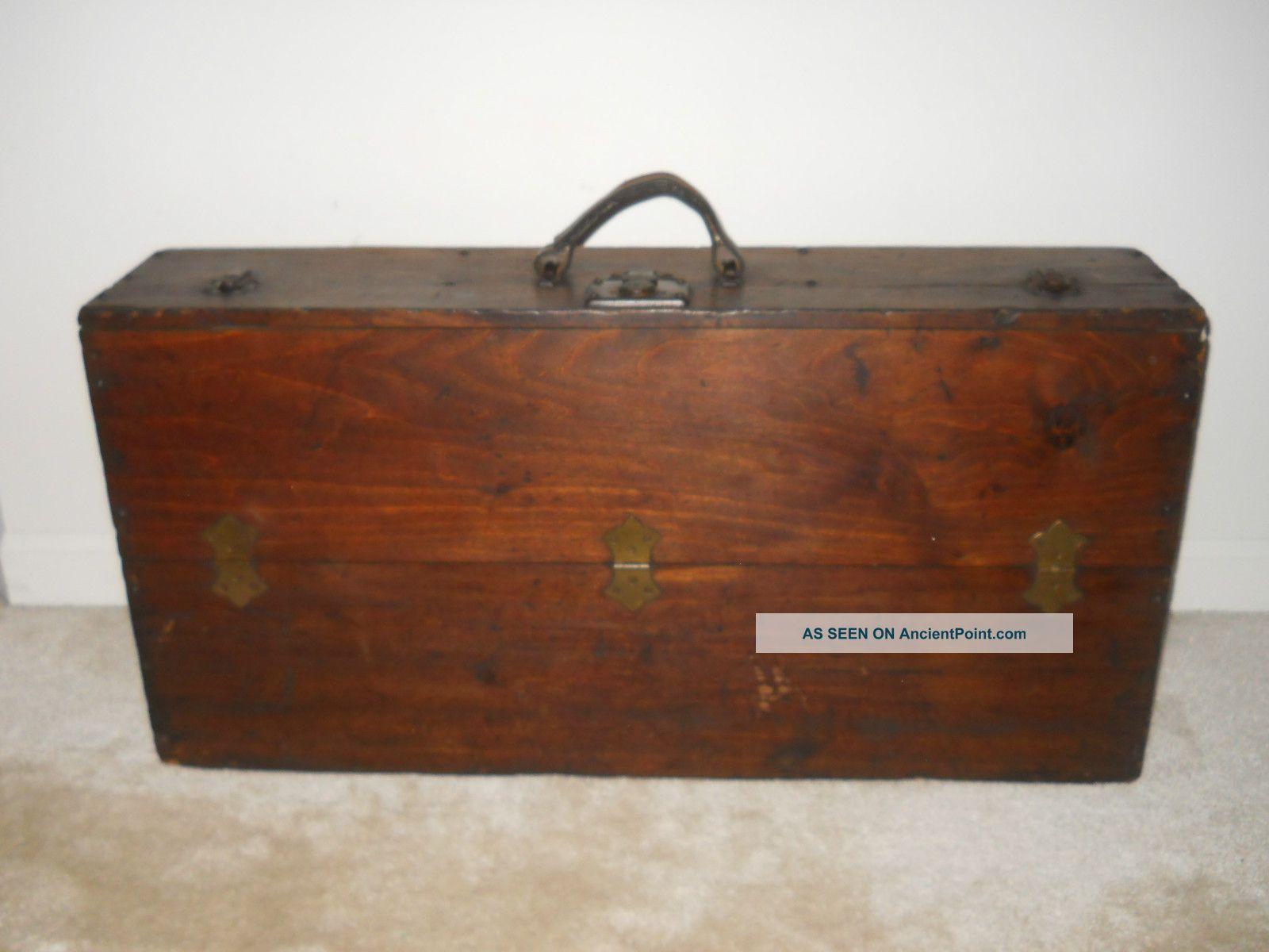 Vintage Wood Tool Caddy