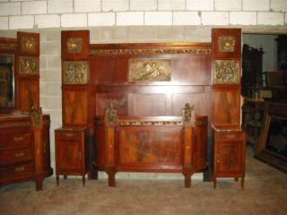 Metal bedroom sets