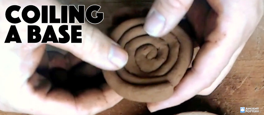 coiling a base