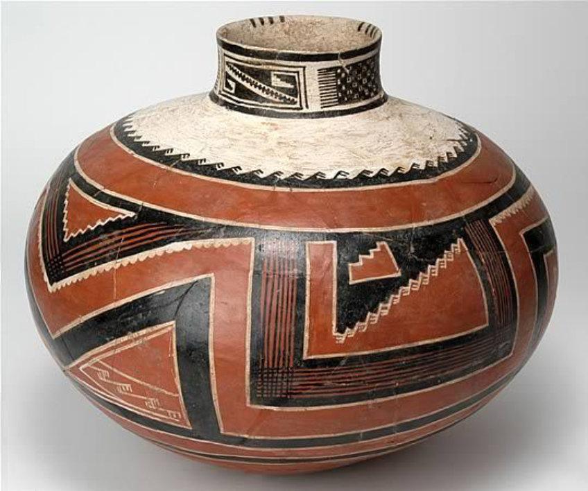Four Mile Polychrome jar, Arizona State Museum