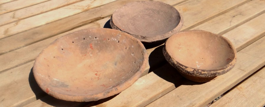 A section of pukis for pottery making