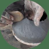 Forming a coil pot