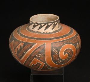 original four mile polychrome jar