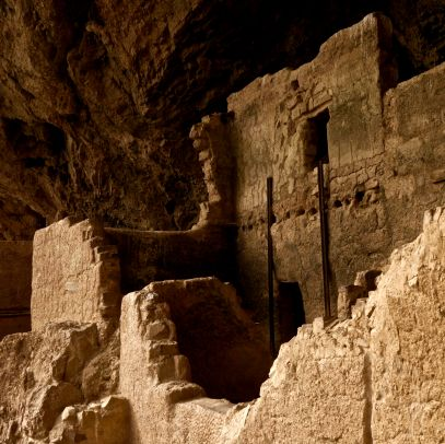 Lower Tonto Cliff Dwellings in Arizona