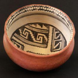Cliff Polychrome bowl replica