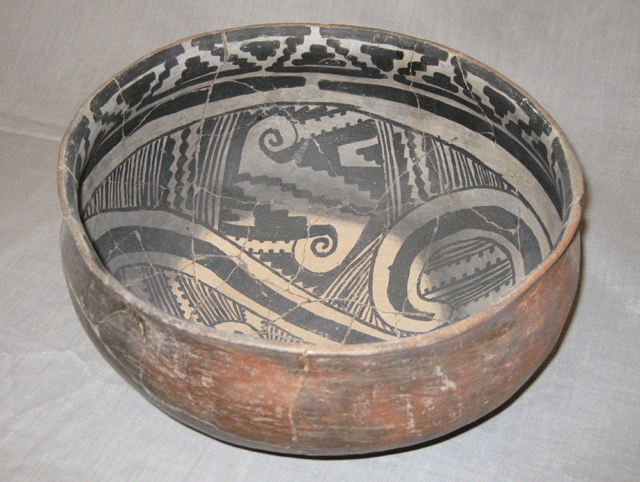 Cliff Polychrome Bowl