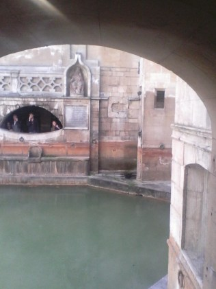 The Roman baths at bath