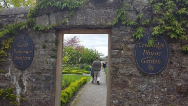 The entrance to the Physic Garden in Cowbridge