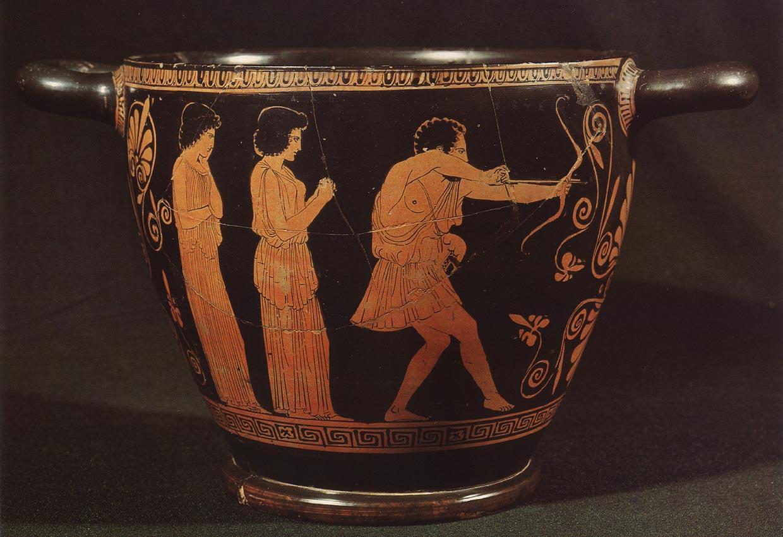 Image result for ancient greek archery vase