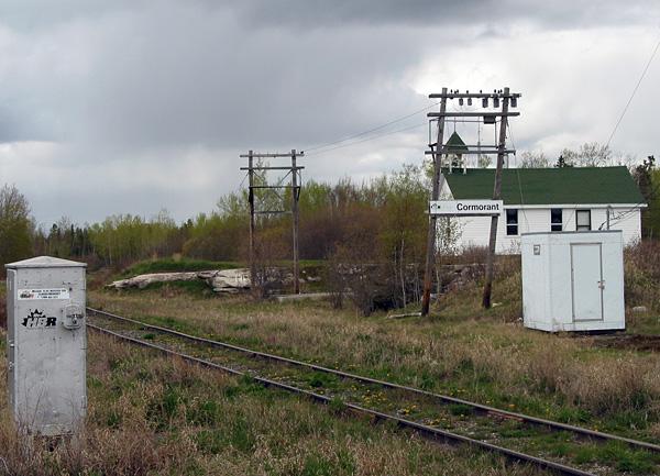 The famed Hudson Bay Railway passes through Cormorant.