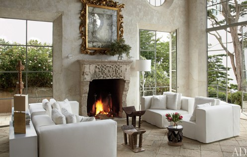 Antique Reclaimed Stone fireplace from the 16th Century by Ancient Surfaces