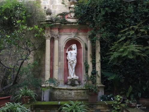 provence garden outdoor statue limestone