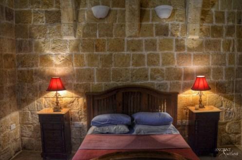 provence style bedoom wall cladding limestone