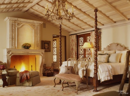 limestone-fireplace-master-bedroom