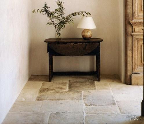 Antique reclaimed flooring