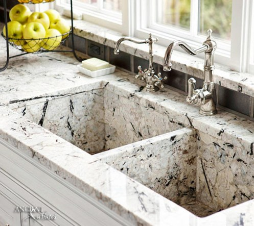 steel-faucets-limestone-farmhouse-kitchen-marble-sink