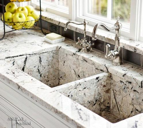 steel-faucets-limestone-farmhouse-kitchen-marble-sink