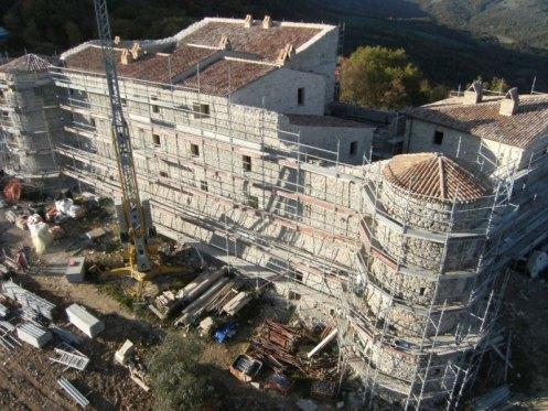 Castle di Procopio before respiration