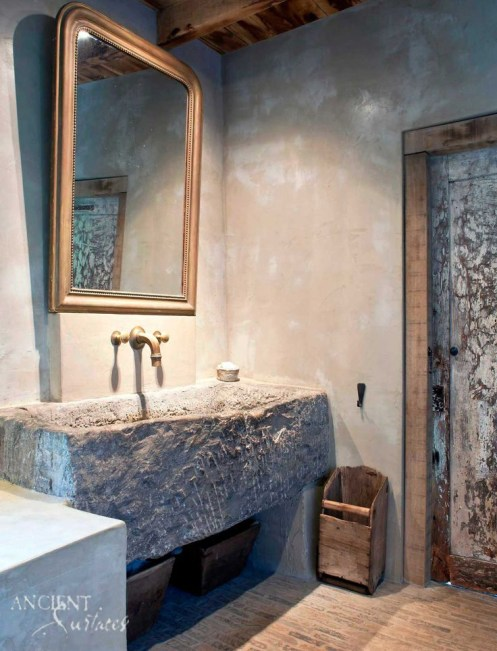 luxe-decor-rustic-bathrooms-with-limestone-sink