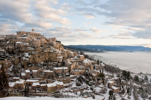 French-provence-castles-limestone-winter