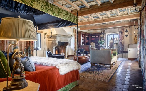 Castello di Santa Eurasia Bedroom