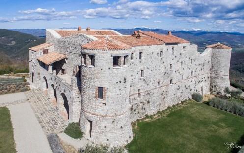 Castello di Santa Eurasia aerial view