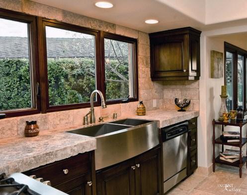 limestone-kitchen-countertop