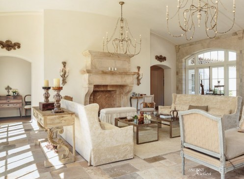 classical-itlalian-living-room-design-limestone-fireplace-old