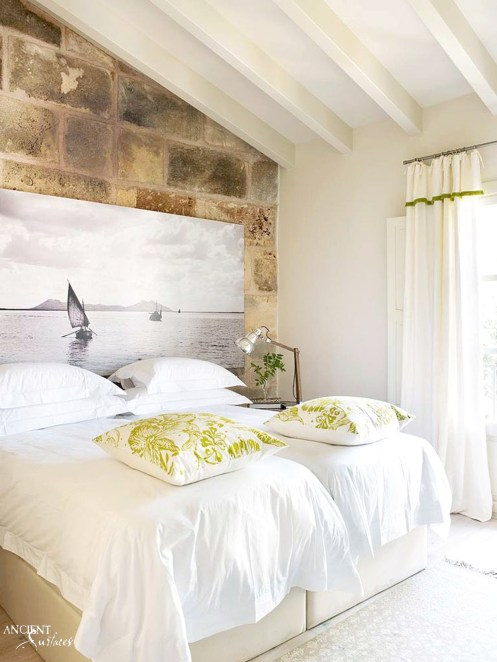 provence-master-bedroom-antique-look-with-limestone-wall-cladding