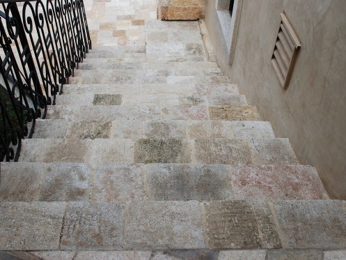 Antique Kronos Stone Stairs by Ancient Surfaces
