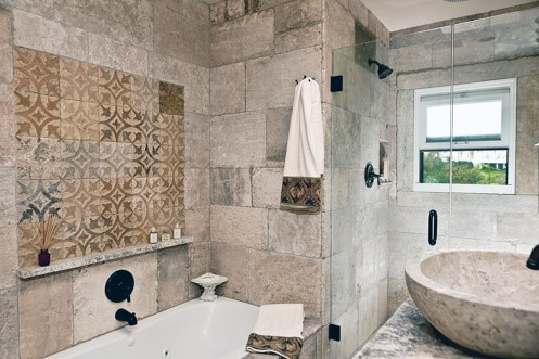 Antique Limestone Bathroom by Ancient Surfaces