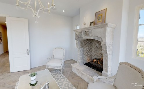 indoor-vintage-antique-limestone-stone-fireplace-mantel-