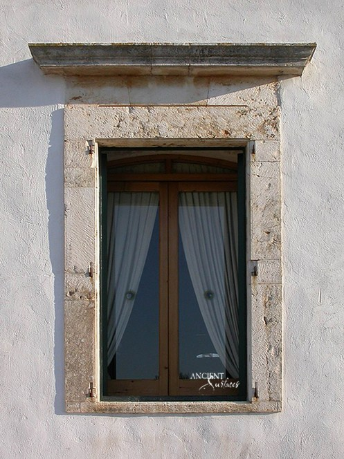 limestone-window-frame