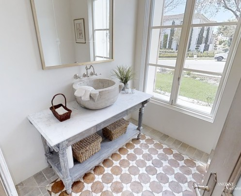 powder-room-interior-design-bathroom-antique-limestone-stone-basin-sink