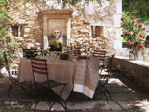 outdoor-provence-nature-limestone-wall-fountain-antique-stone