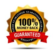 100 Money Back Guarantee