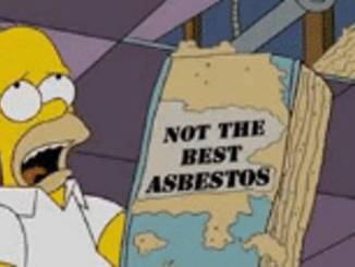 Not the best asbestos