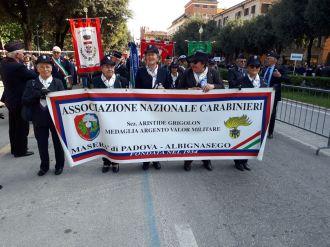 Sfilata Sezione di Maserà a Verona 2018