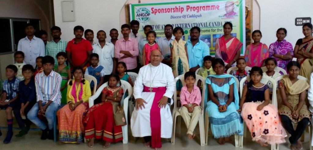 ANCOP Team in Cuddapah, India Visits Sponsored Children