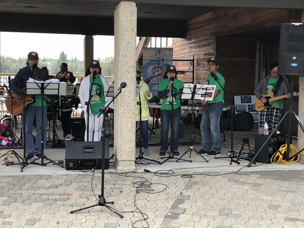 CFC Edmonton music ministry in action