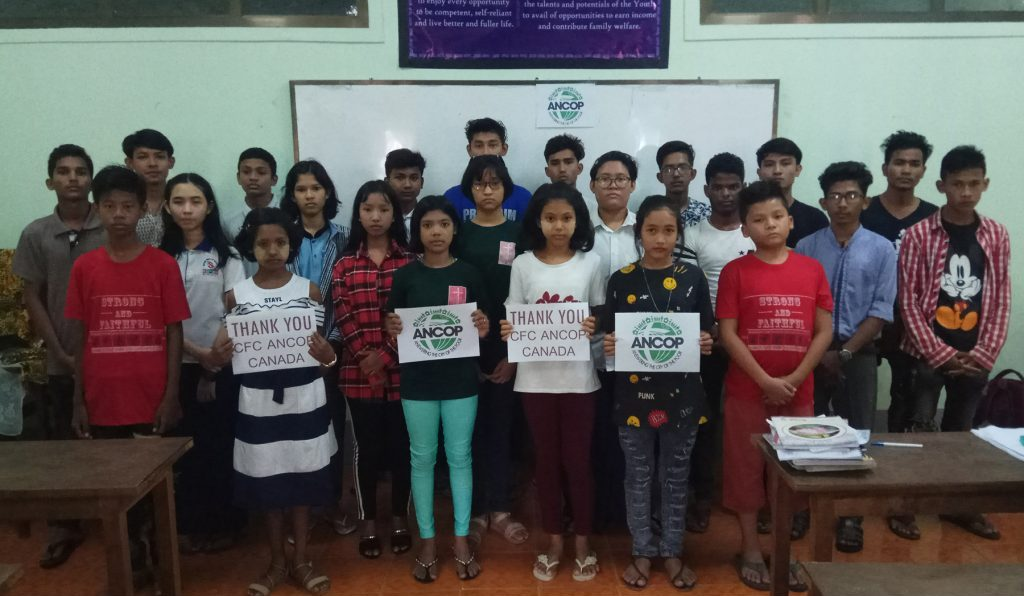 Scholars from Myanmar from October 26, 2020