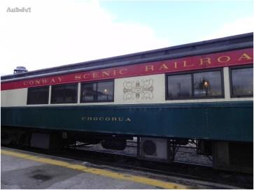 Treno della Conway Scenic Railroad