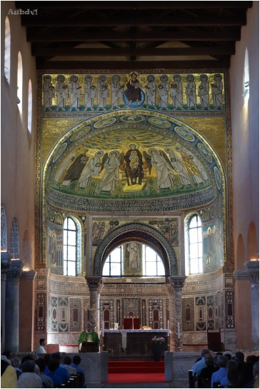 Basilica Eufrasiana - interno -