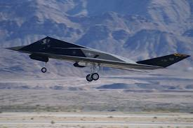 F-117 Landing