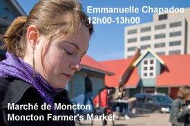 Moncton 24. Emmanuelle Chapados