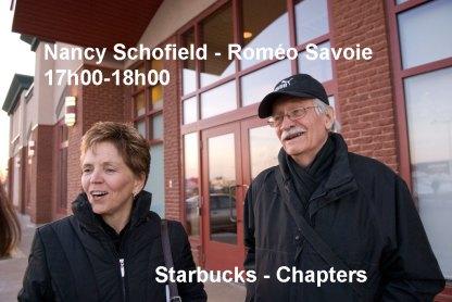 Moncton 24. Nancy Schofield et Roméo Savoie